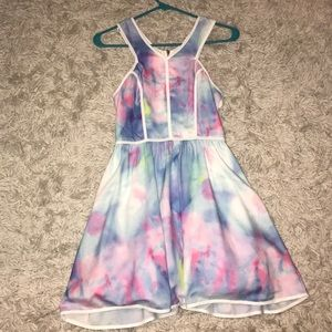 Tea and cup dress size small